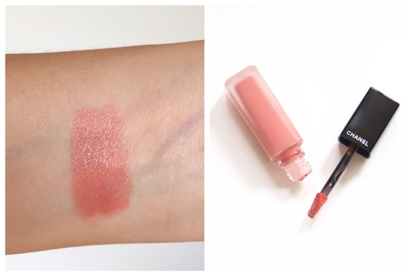 Chanel Rouge Allure Ink Amoureux swatch