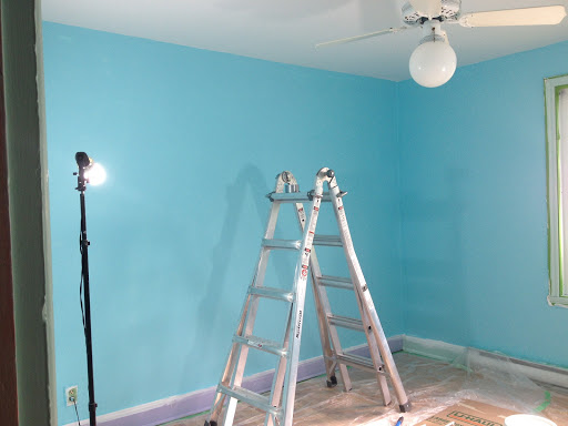 skimcoat textured walls DIY paint
