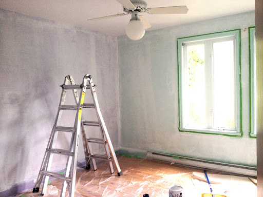 skimcoat textured walls DIY primer