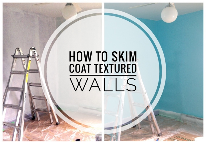 Skim Coating Textured Walls DIY