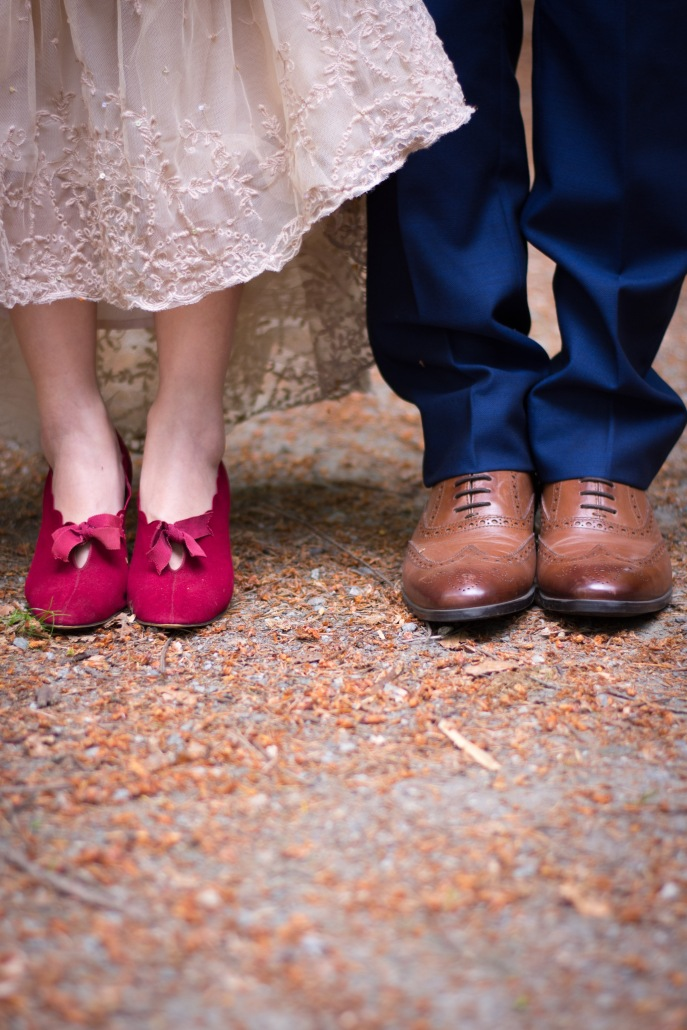 BHLDN ROSECLIFF GOWN ETSY RED WEDDING SHOES BLUE SIMONS SUIT BROWNS OXFORDS