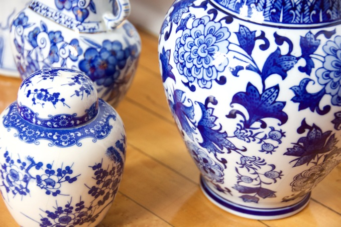 blue and white china porcelain pottery vase jar chinoiserie 5 (1)