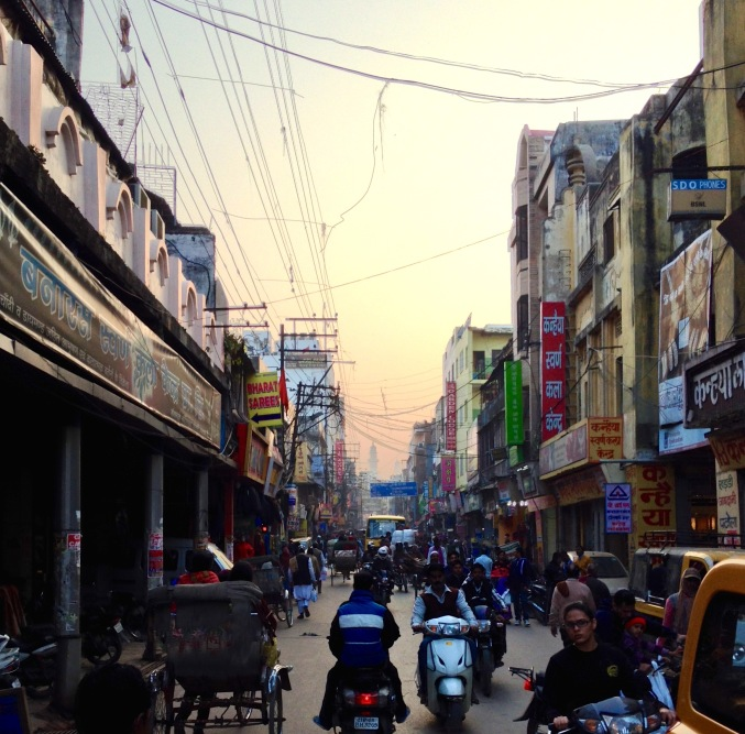 India tuk tuk ride street travel