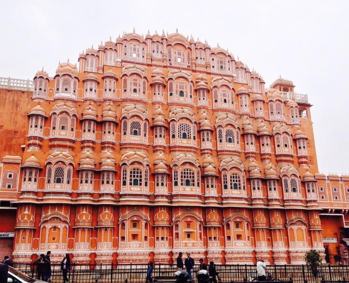 Jaipur India travel pink city Hawa Mahal
