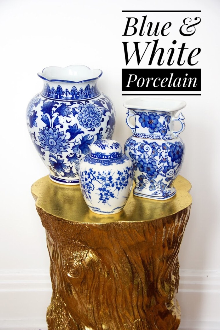 Blue and White Porcelain Pottery