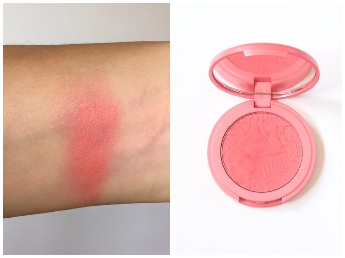 summer beauty favourites swatches Tarte Amazonian Clay 12-Hour Blush Tipsy