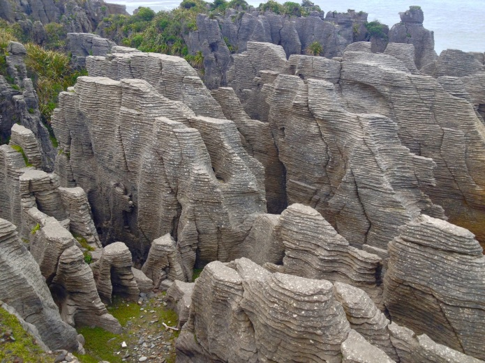 New Zealand Paparoa National Park pancake rocks travel