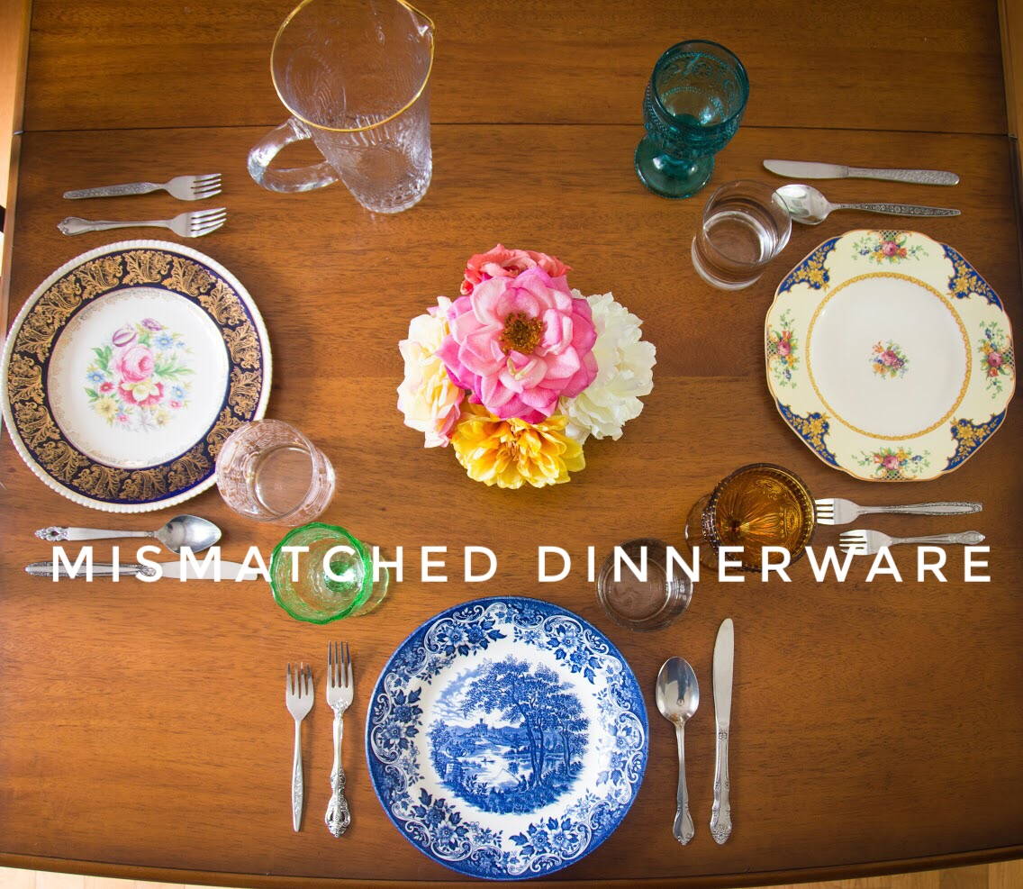 If I could describe my style (both fashion and decor-wise) in one word it would be eclectic. Kinda obvious from the title of this blog\u2026 : eclectic dinnerware - pezcame.com