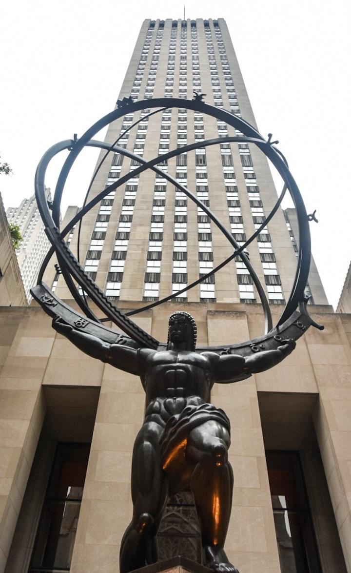 New York City Manhattan Rockefeller Centre travel