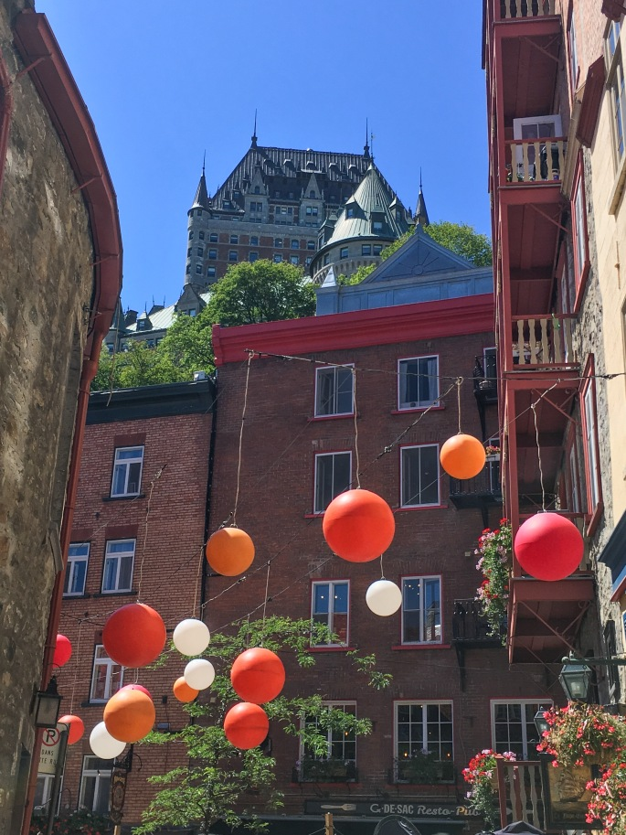 Chateau Frontenac Old Quebec City