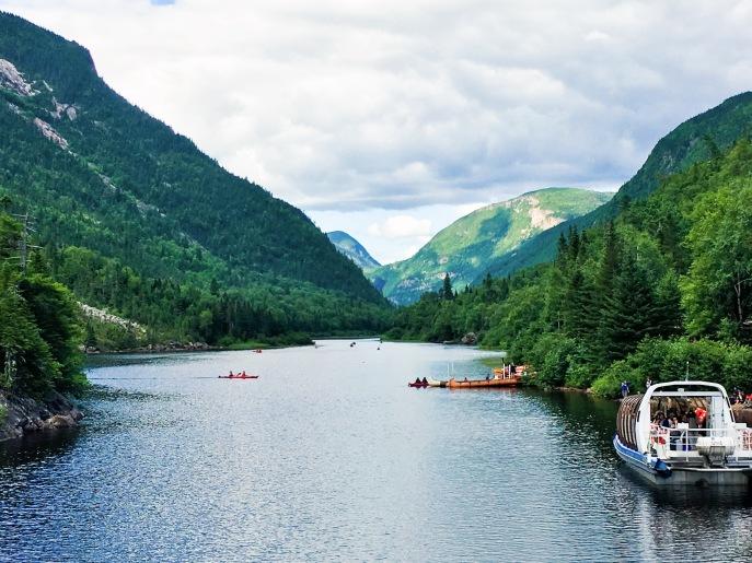 Rivière Malbaie Parc National des Hautes-Gorges-de-la-Rivière-Malbaie