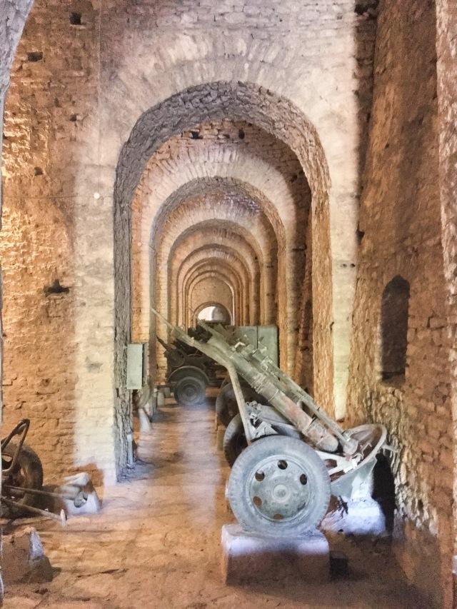 Albania Gjirokaster travel castle cannons