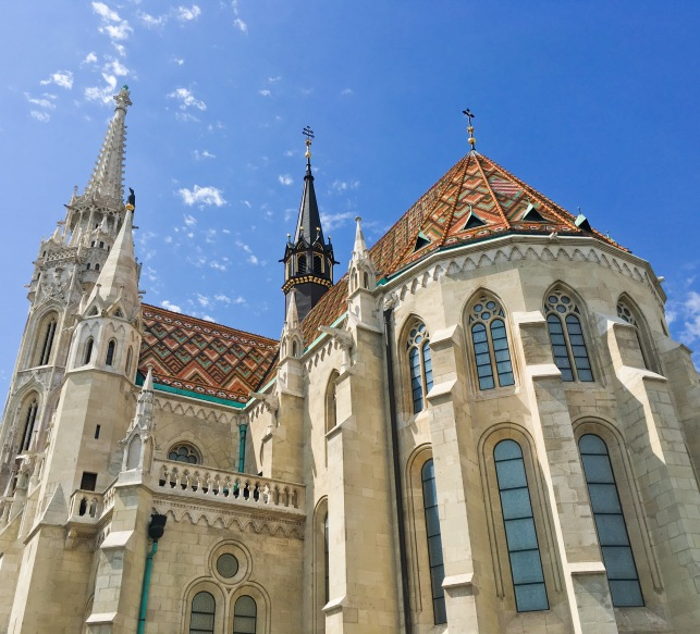 Budapest travel castle hill district Matthias Church