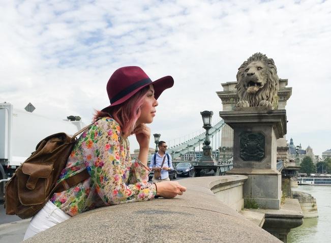 Budapest travel Chain Bridge travel fashion