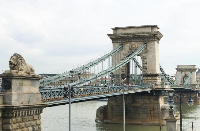 Budapest travel Chain Bridge
