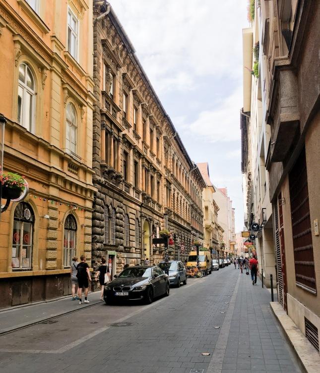 Budapest travel Jewish quarter
