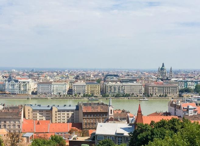 Budapest travel skyline Danube River