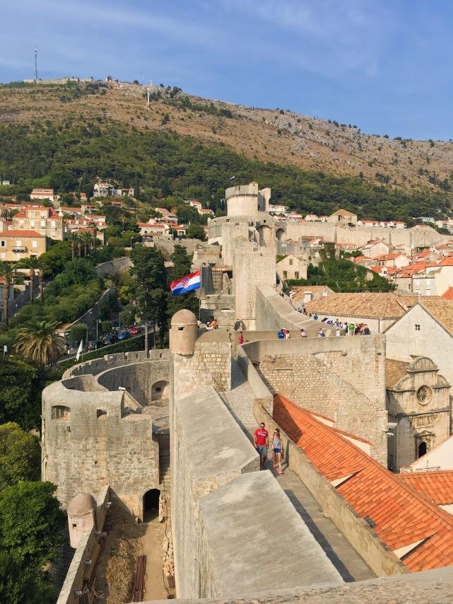 Croatia Dubrovnik travel city walls walk old town