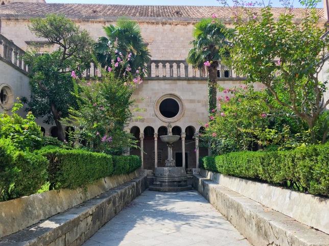 Croatia Dubrovnik travel monastery