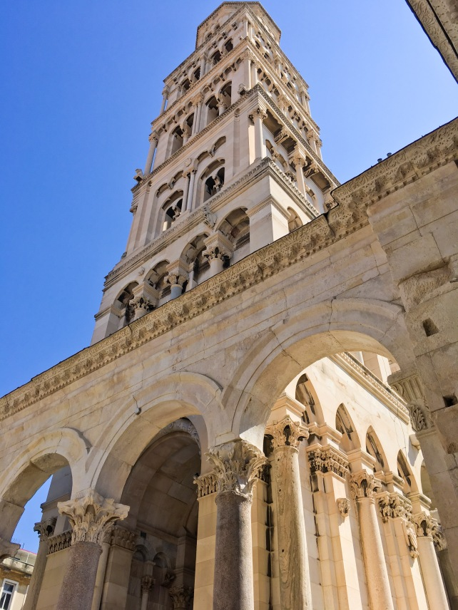 Croatia Split cathedral old town travel