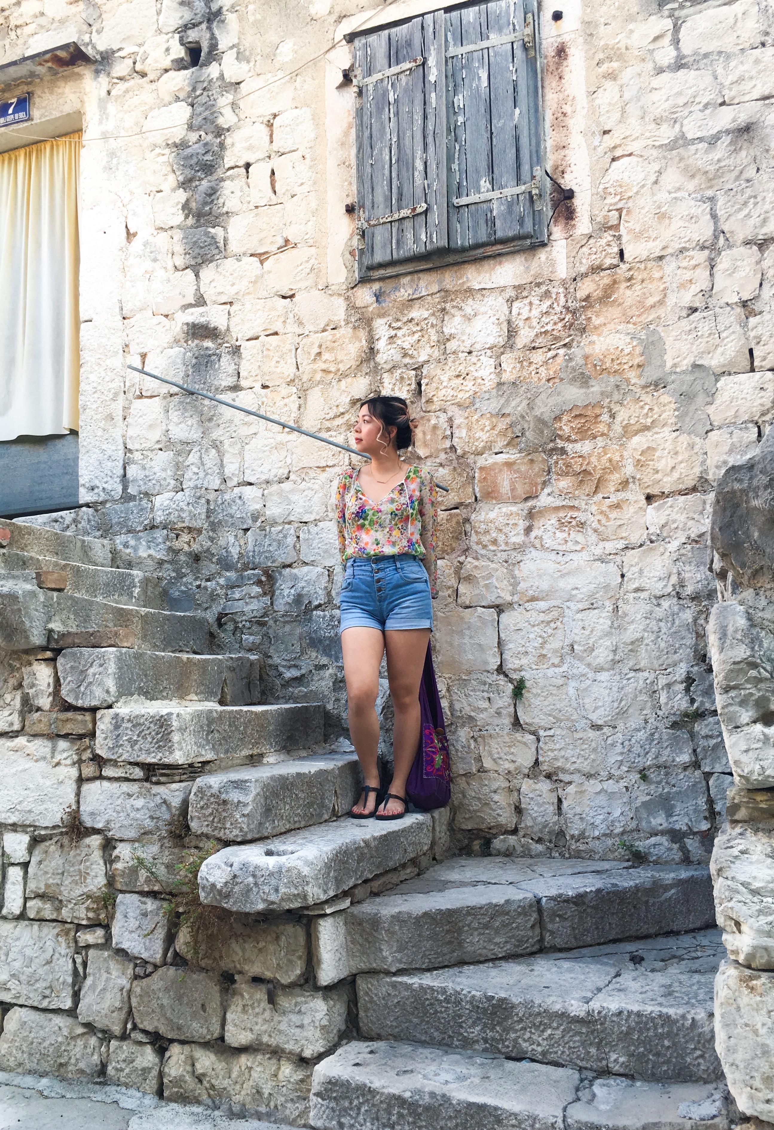 Croatia Split old buildings travel fashion