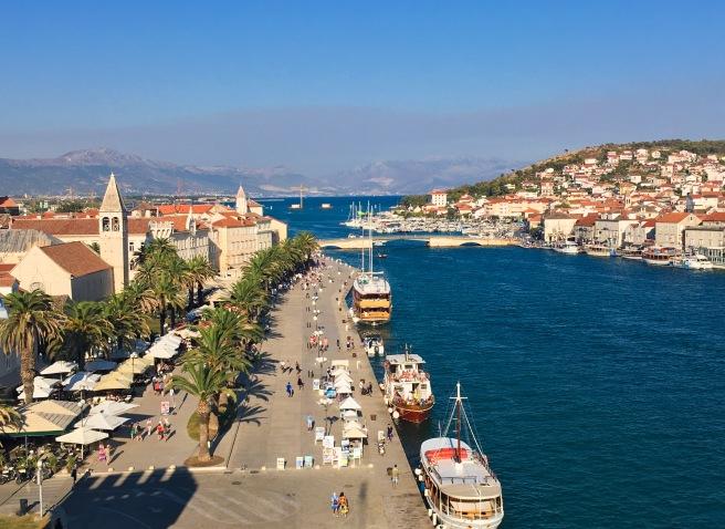 Croatia Trogir harbour travel