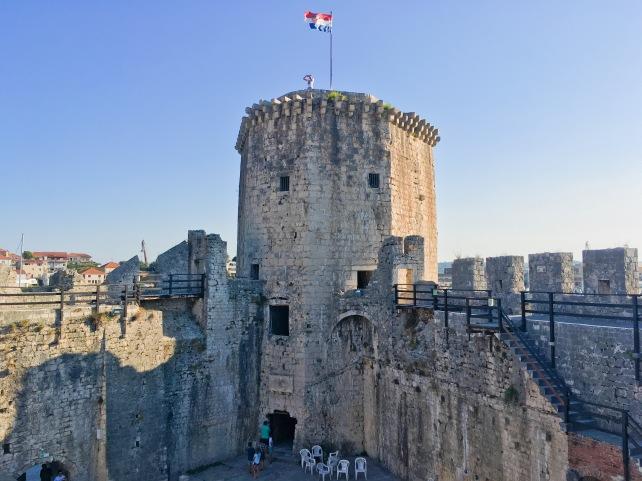 Croatia Trogir medieval fortress travel