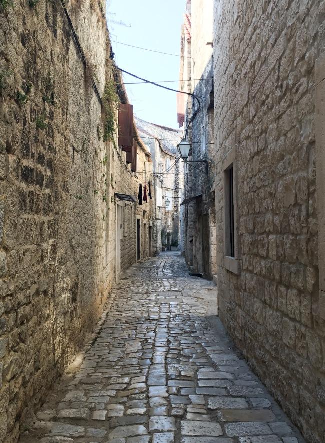 Croatia Trogir streets travel