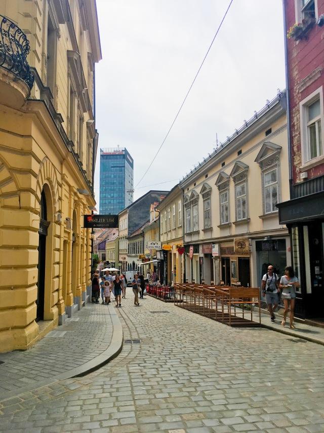 Croatia Zagreb travel street