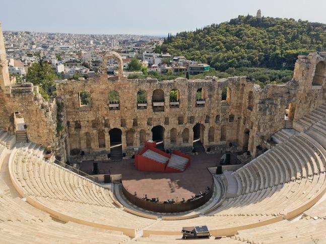Greece Athens travel Acropolis amphitheater