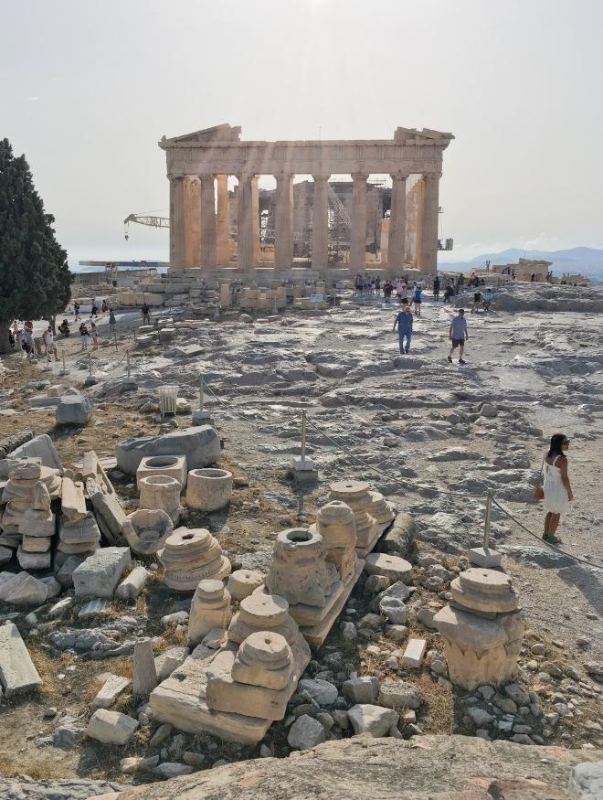Greece Athens travel Acropolis temple of Athena