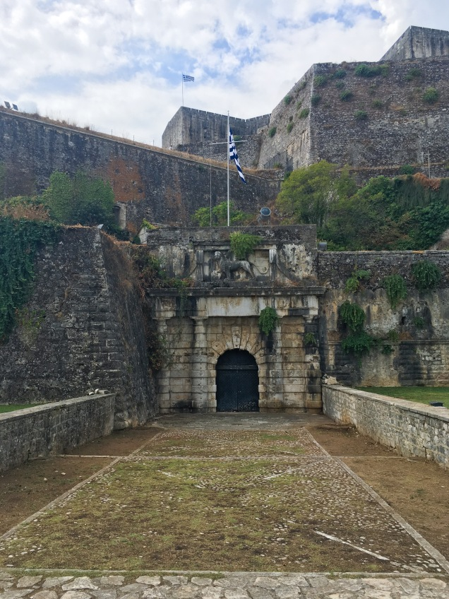 Greece Corfu new fortress travel