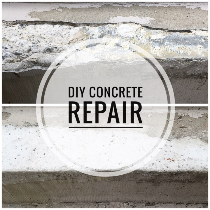 Fixing Front Steps Part I: DIY Concrete Repair