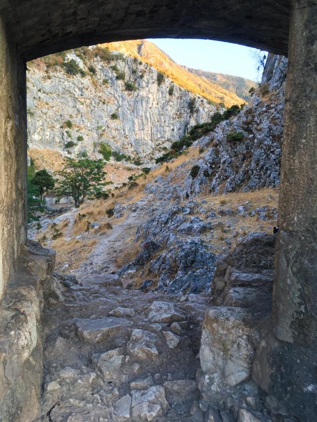 Montenegro Kotor hike fortress travel