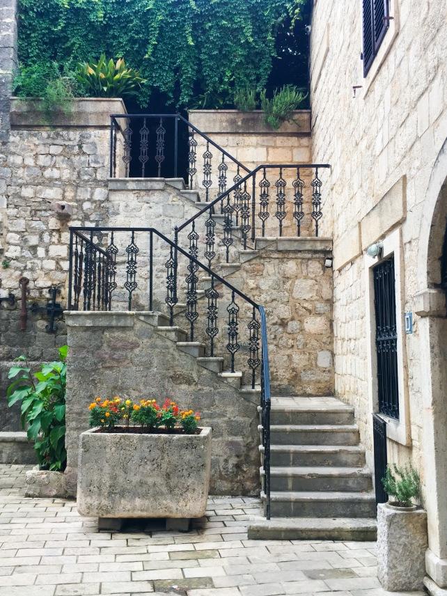 Montenegro Kotor travel steps