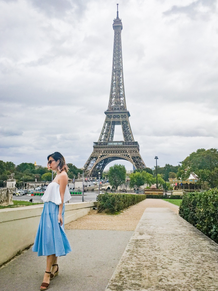 Paris travel Eiffel Tower fashion 2