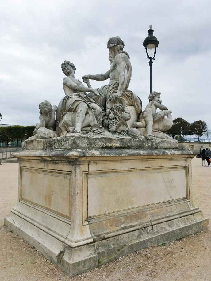 Paris travel Tuileries Garden statue monument