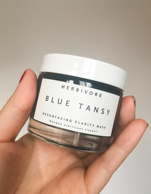 Herbivore Blue Tansy AHA + BHA Resurfacing Clarity Mask Sephora VIB sale haul