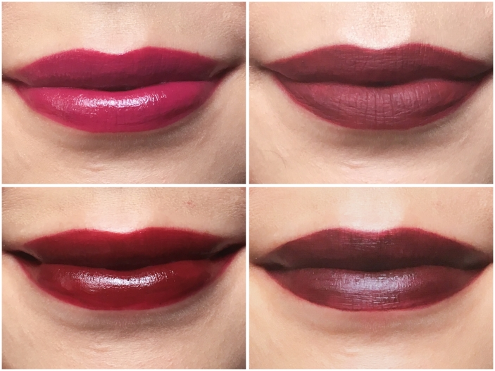 vampy fall lipsticks Bite Beauty Luminous Creme Lipstick Mulberry Scarlet Tarte Tarteist Lip Pencil Squad Ciate London Liquid Velvet Voodoo