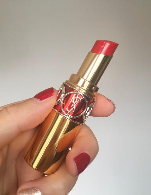YSL Rouge Volupte Shine in Oil 4 Rouge in Danger Sephora VIB sale haul