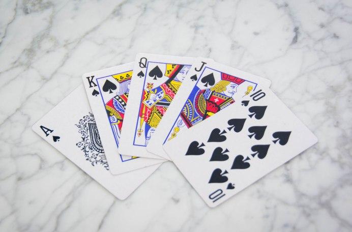 cards Texas Hold'em poker favourites