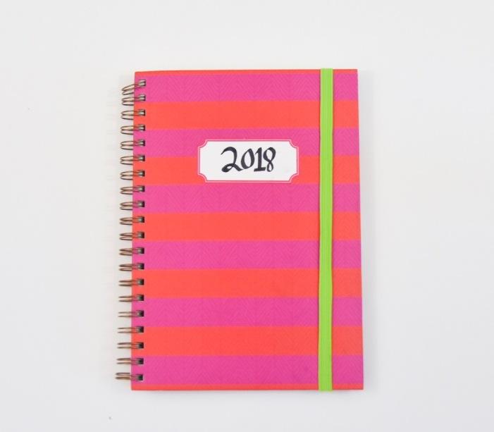 DIY 2018 calendar agenda planner 6