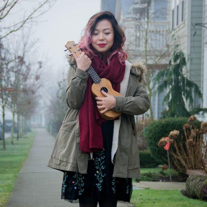 soprano ukulele winter fashion