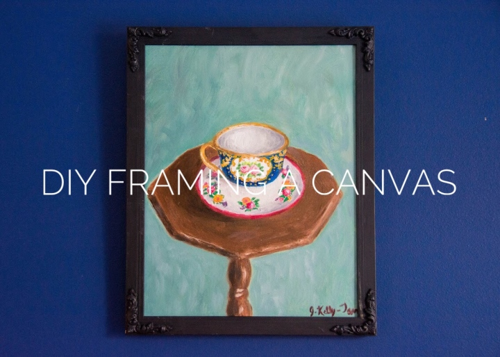 DIY Framing A Canvas