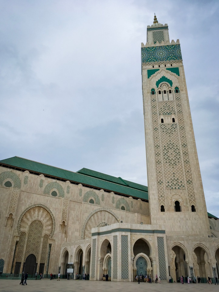 Mosque Hassan II Casablanca Morocco travel Montreal lifestyle fashion beauty blog 1