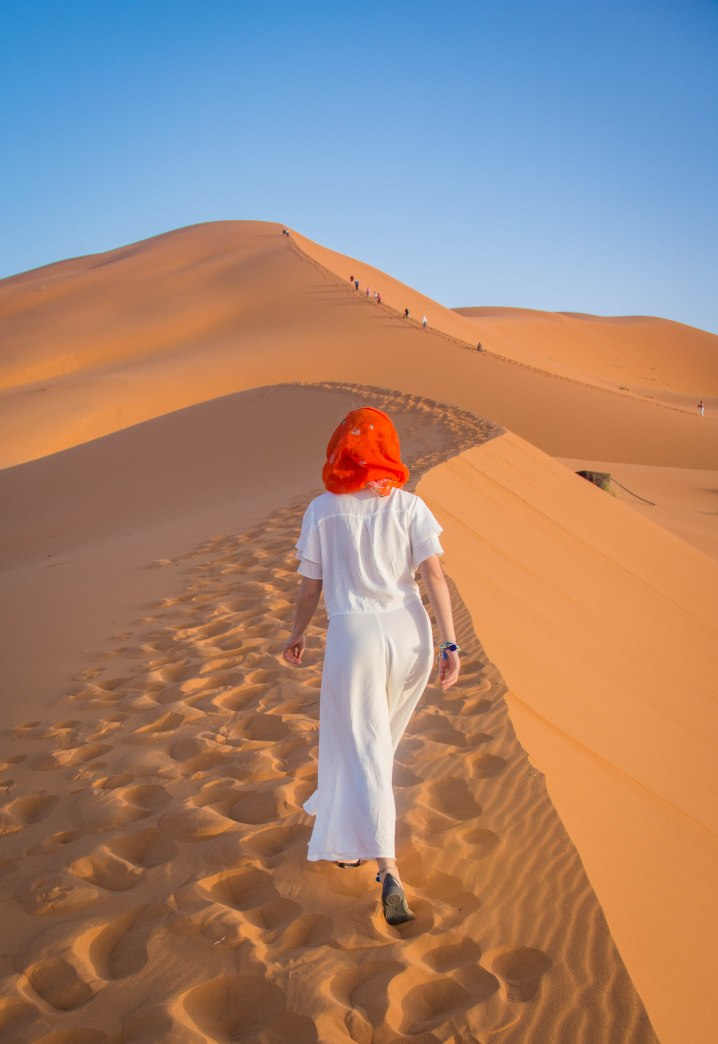 Sahara Desert sand dune Morocco travel Montreal lifestyle fashion beauty blog 1