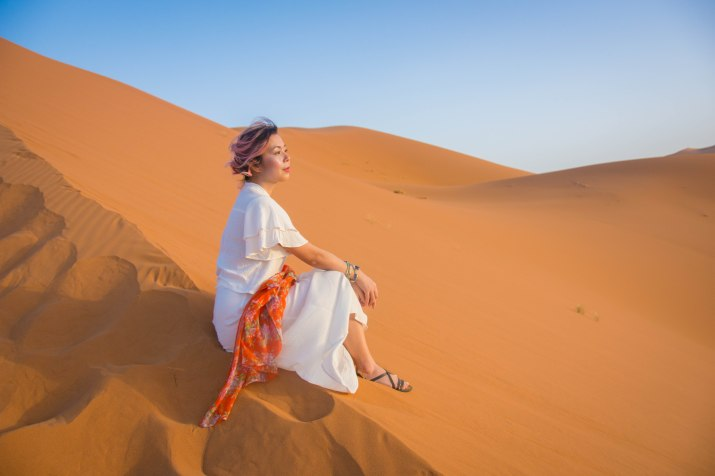 Sahara Desert sand dune Morocco travel Montreal lifestyle fashion beauty blog 5