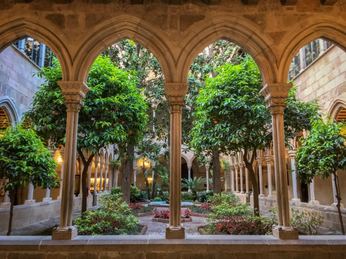 Monastery Barcelona Spain travel Montreal lifestyle fashion beauty blog