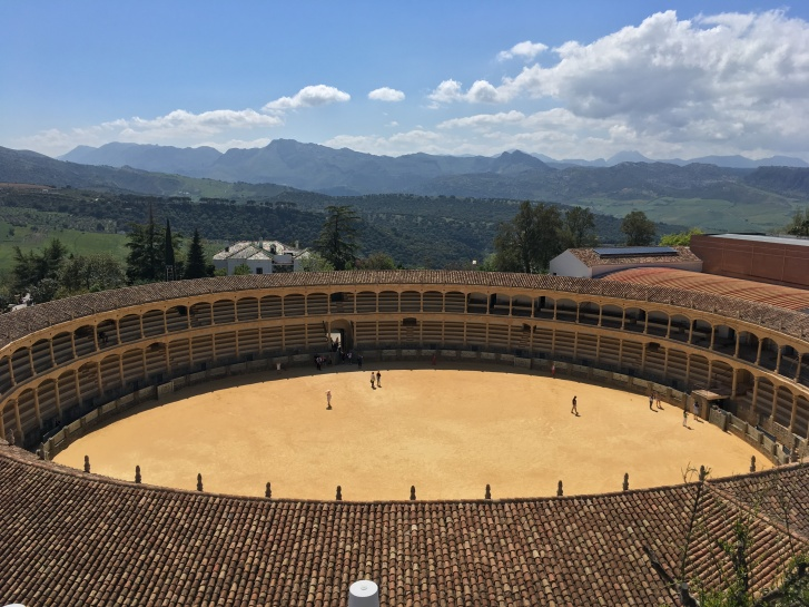 Ronda bullfighting arena Spain travel Montreal lifestyle fashion beauty blog